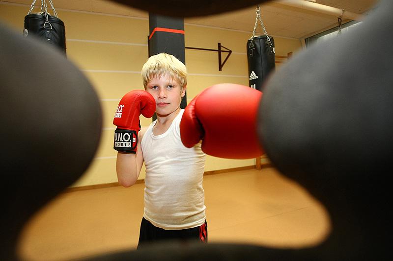 Markus Feinstein aus der Boxerperspektive