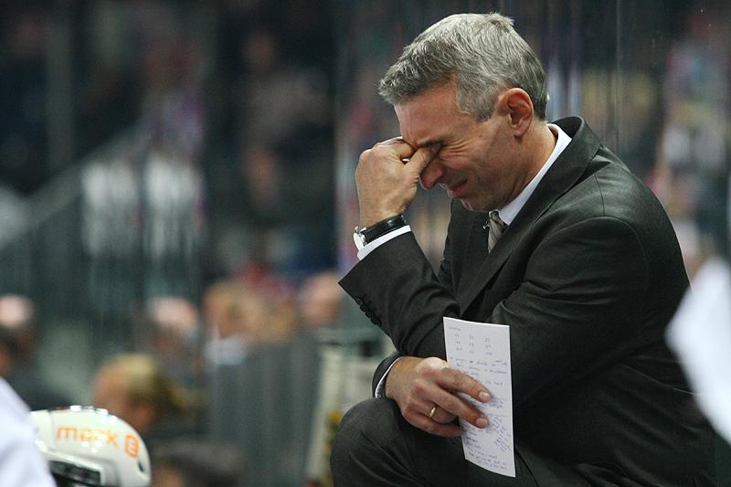 Headcoach Ulrich Liebsch ist tief enttäuscht über die Leistung seiner Mannschaft