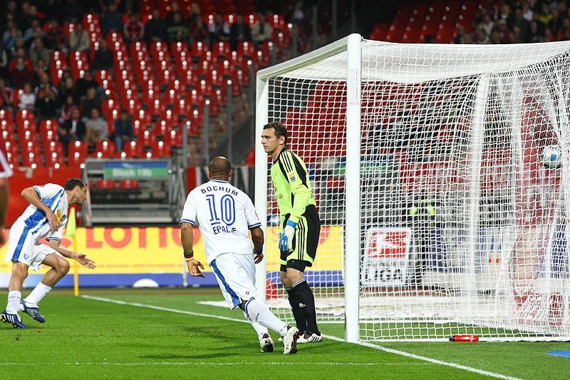 Das 0:1 fiel bereits in der 7 Minute durch Diego Fernando Klimowicz