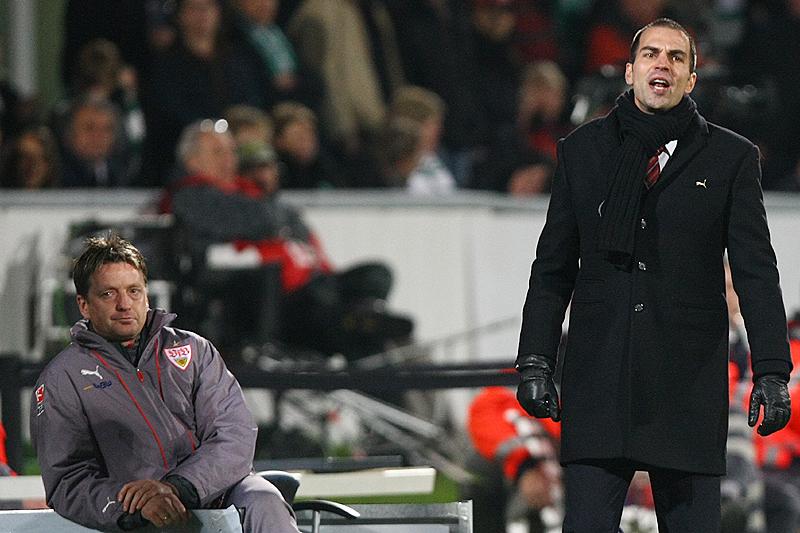 Trainer Markus Babbel vor dem Aus in Stuttgart