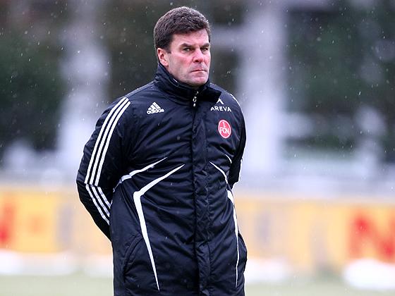Beim Club soll Dieter Hecking das Team aus der Abstiegszone führen