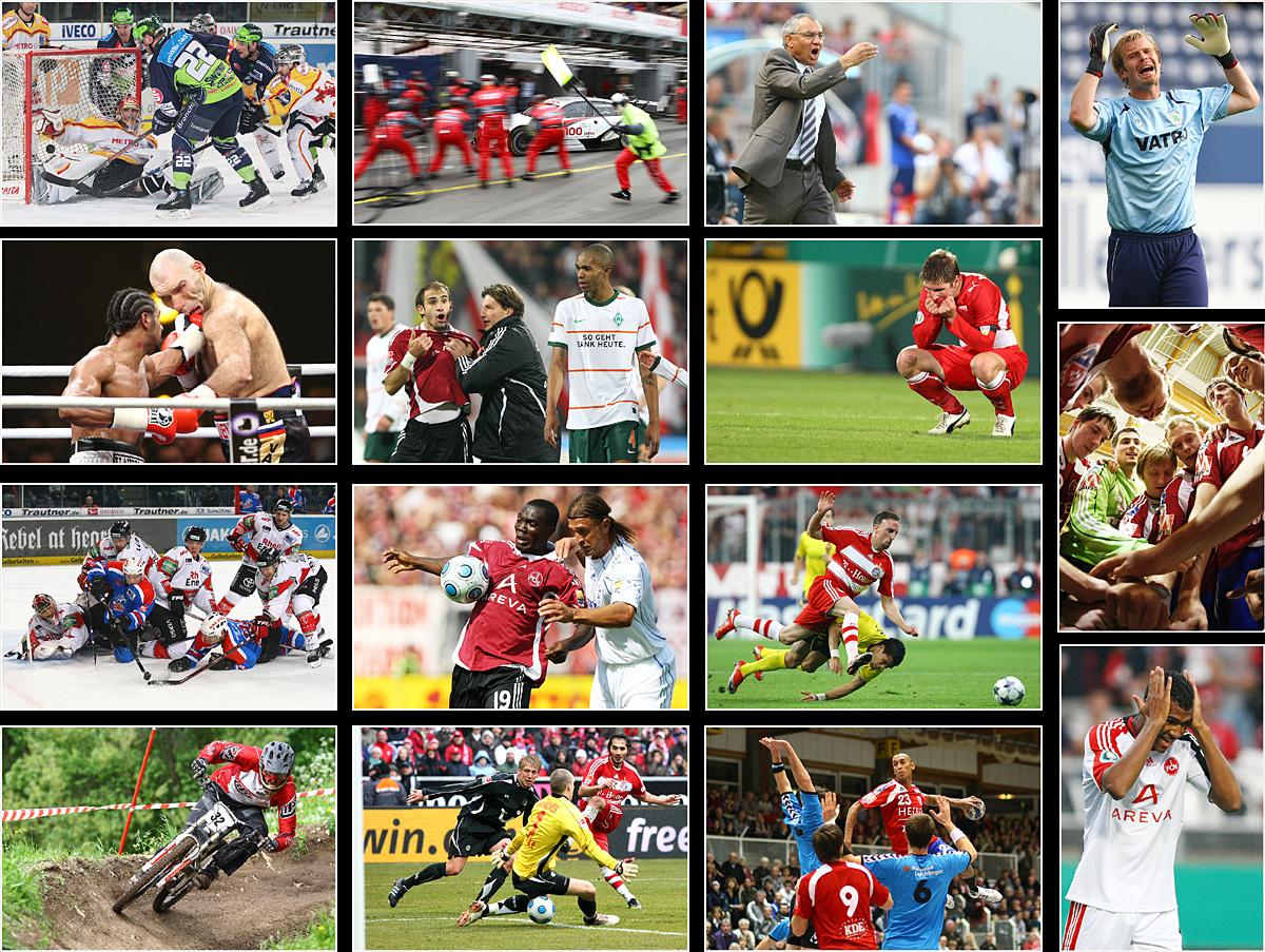 Best of der Sportbilder aus 2009