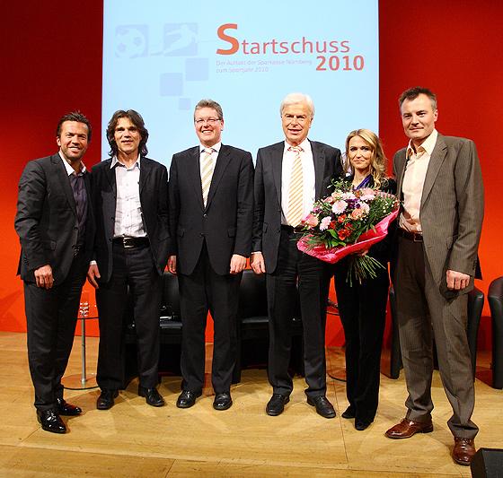 Lothar Matthäus, Frank Wörndl, Dr. Matthias Everding, Rainer Holzschuh, Petra Bindl, Sven Fischer