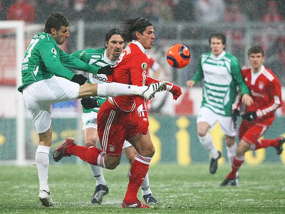Marco Caliguiri gegen Mario Gomez