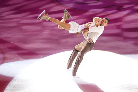 Das deutsche Eislauftraumpaar Aljona Savchenko und Robin Szolkowy holte in der diesjährigen Weltmeisterschaft in Turin die Silbermedaille