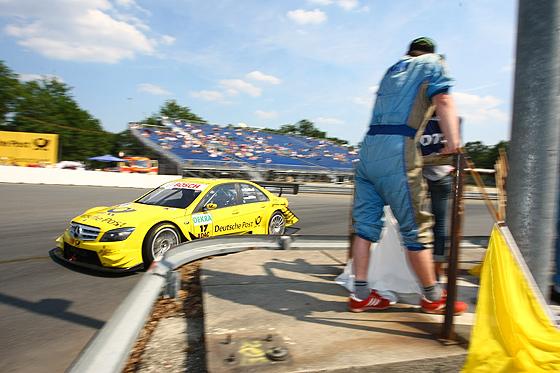 David Coulthard (Deutsche Post AMG Mercedes) im Schöller-S